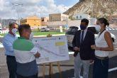 Consejero de Fomento y Alcaldesa inauguran las obras de mejora y redonda de la avenida Daniel Ayala