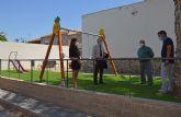El jardín del barrio de La Condomina ya disfruta de un espacio mejorado