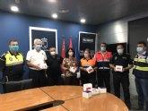 La Comunidad Autónoma reparte a la Policía Local y Protección Civil de Totana unidades de test de inmunidad para la detección de anticuerpos del COVID-19