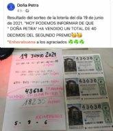 El sorteo de la Lotería Nacional sonríe a Totana con casi medio millón de euros