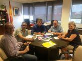 Autoridades municipales se reúnen con el director general del Agua