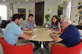 La directora  general de Ordenación del Territorio, Nuria Fuentes considera asunto prioritario el PGOU de San Javier y se compromete a agilizar su tramitación