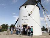 'Los sonidos del viento' llegan al Molino de El Pasico bajo la batuta del director de la Unión Musical de Torre-Pacheco