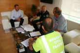 Ayuntamiento y 'Unipublic' se reúnen para coordinar el dispositivo de seguridad y emergencias