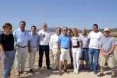 La alcaldesa se suma a las reivindicaciones de los grupos parlamentarios y del alcalde de Mula en defensa de las Comunidades de Regantes de la Comarca
