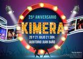 El cine protagonizará la 'Semana Cultural' de 'Kimera' en su 25° aniversario