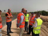 Obras de mejora en la carretera que une Torre-Pacheco con Los Alcázares