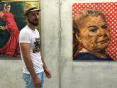 El pintor Pedro Juan Rabal hace un recorrido por «La Mujer y el Flamenco»
