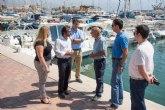 La Consejería de Fomento iniciará este año las obras de reparación del muelle pesquero de Mazarrón
