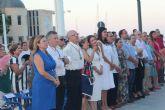 Cientos de personas en la misa en honor al Cristo del Mar Menor