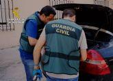 La Guardia Civil detiene a una pareja dedicada a cometer robos en Cieza