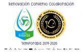El Club Fútbol Sala Pinatar y el Club Deportivo Aidemar renuevan Convenio de Colaboración para la temporada 2019/20