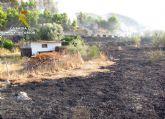 La Guardia Civil investiga a dos personas por un incendio forestal ocurrido en Blanca
