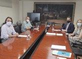 El alcalde se reúne con los directores generales del INFO y Comercio para abordar las líneas de ayudas autonómicas a los sectores del comercio y la hostelería