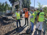 Fomento inicia las obras de mejora de la seguridad vial en la travesía de acceso a Archena