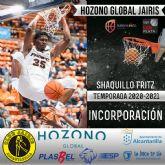Shaquillo Fritz nueva incorporación a la plantilla del Hozono Global Jairis