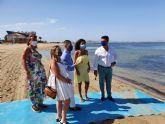 La consejera de Turismo preside el acto de izada de la bandera 'Safe Tourism Certified'