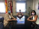 Reunión de la Concejalía de Educación con la Directora General de Centros Educativos