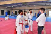 Selección Española de Karate, en la categoría juvenil