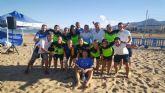 El Bala Azul femenino se proclama campeón de la primera liga nacional de fútbol playa
