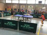 El mazarronero Miguel Ortiz obtiene el título juvenil en el Open Ciudad de Lorca de tenis de mesa