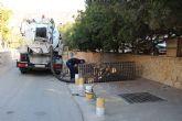 El Ayuntamiento limpia diversas zonas inundables ante la gota fr�a