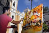 Cuarenta artistas del país participan en el I Certamen de Pintura Rápida