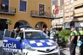 Hoy han sido presentados dos nuevos coches policiales para la Policía Local de Alcantarilla