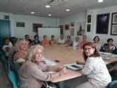 La Concejala de Igualdad del Ayuntamiento de Molina de Segura se reúne con las responsables de 26 asociaciones de mujeres del municipio