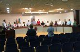 El Pleno del Ayuntamiento de San Javier empieza con un minuto de silencio por el fallecimiento del comandante y la alférez de la AGA en accidente áereo