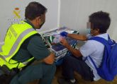 La Guardia Civil sorprende a un vecino de Cartagena con más de 50 kilos de doradas capturadas ilícitamente