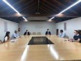 El Eurodiputado Marcos Ros visita Mula para informar de las ayudas europeas destinadas a los municipios