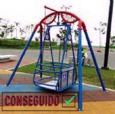 Nuestros parques infantiles dispondrán de juegos adptados a necesidades expeciales