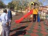 El recinto ferial ya cuenta con un nuevo parque con juegos infantiles