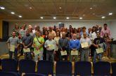 Un centenar de trabajadores recogieron sus diplomas tras finalizar diferentes cursos