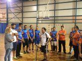 La concejala de Deportes felicitó a los jugadores de Aidemar tras quedar subcampeones de España de Fútbol Sala en habilidades deportivas