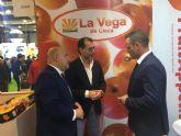 El alcalde y concejal de Agricultura apoyan a las cooperativas ciezanas en Fruit Atraccion