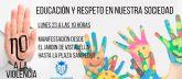 El Ayuntamiento de Alcantarilla convoca para el próximo lunes una manifestación contra la violencia, tras la agresión sufrida por una monitora del servicio de comedor del Colegio Ntra. Sra. de la Asunción
