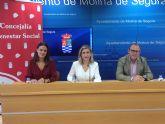 El Ayuntamiento de Molina de Segura y APAMOL firman un convenio para atención integral a personas con escasos recursos económicos que padecen enfermedad de Parkinson