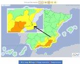 Protección Civil Totana alerta de que se esperan fuertes lluvias en la Región de Murcia mañana sábado