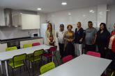 La consejera Tomás inaugura la nueva vivienda tutelada de AFES en Las Torres de Cotillas