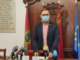 El alcalde de Lorca destaca el 'esfuerzo colectivo realizado' que permitirá salir de la fase 1 flexibilizada en el casco urbano
