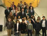 El pregón del teniente general Sánchez Ortega inauguró anoche las fiestas de San Javier