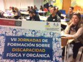 Más de medio centenar de estudiantes participan en las VII Jornadas de Formación sobre Discapacidad Física y Orgánica que se celebran en Totana