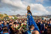 Miles de romeros acompañan a la Purísima Concepción hasta la ermita de Bolnuevo