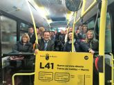 Autobuses LAT presenta un nuevo servicio directo entre Las Torres de Cotillas y la ciudad de Murcia