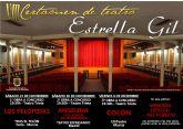 VIIII certamen de teatro aficionado Estrella Gil en el teatro Trieta de Moratalla