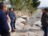 Se invertirán cerca de 700.000 euros en reparar caminos rurales en Puerto Lumbreras