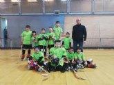 Primera victoria para los benjamines del Club Hockey Patines Totana