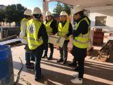 Las obras de rehabilitación del Centro de Mayores y futuro Centro de Día de Balsicas avanzan a buen ritmo